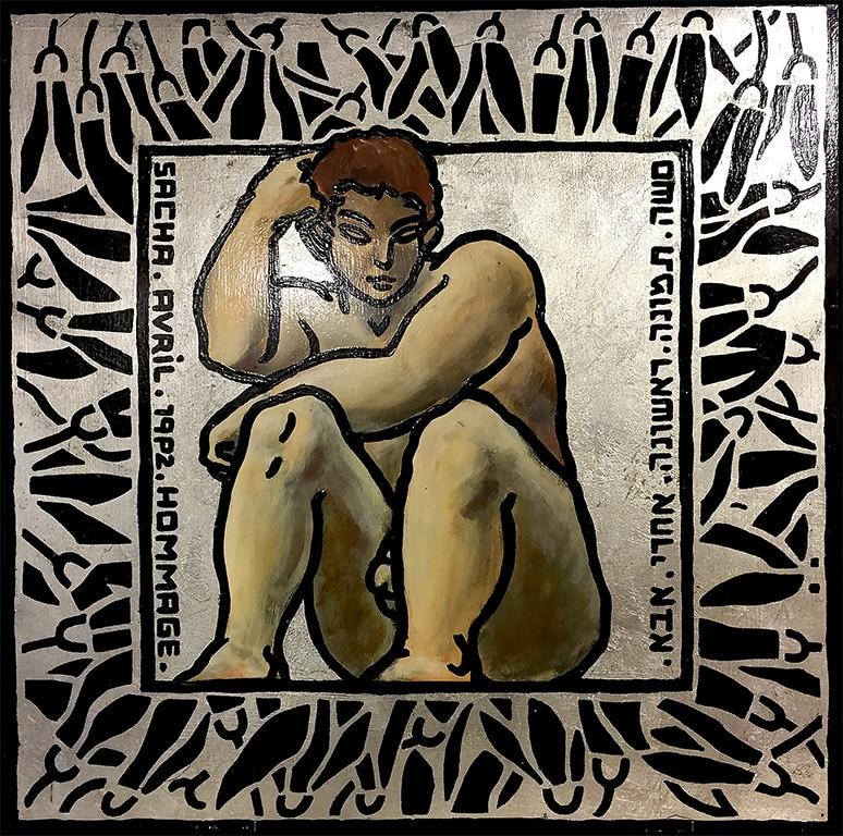 Sacha Schwarz - Oeuvres - Hommes : Hommage