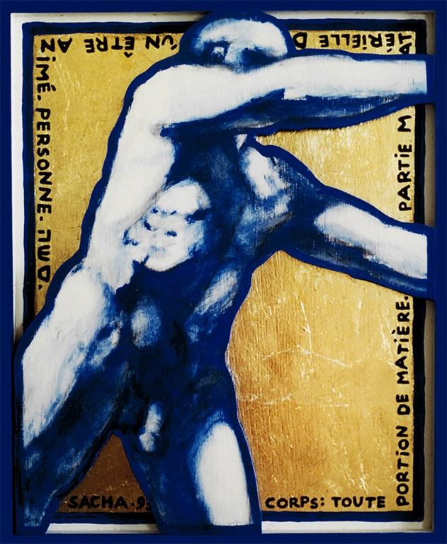 Sacha Schwarz - Oeuvres - Hommes : Homme 9