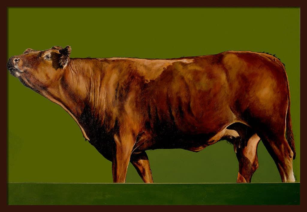 Sacha Schwarz - Oeuvres - Vaches - Icones : Vache 7