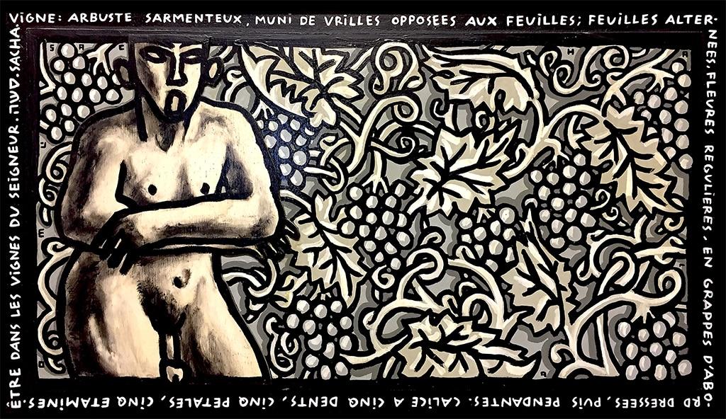 Sacha Schwarz - Oeuvres - Hommes : Vigne